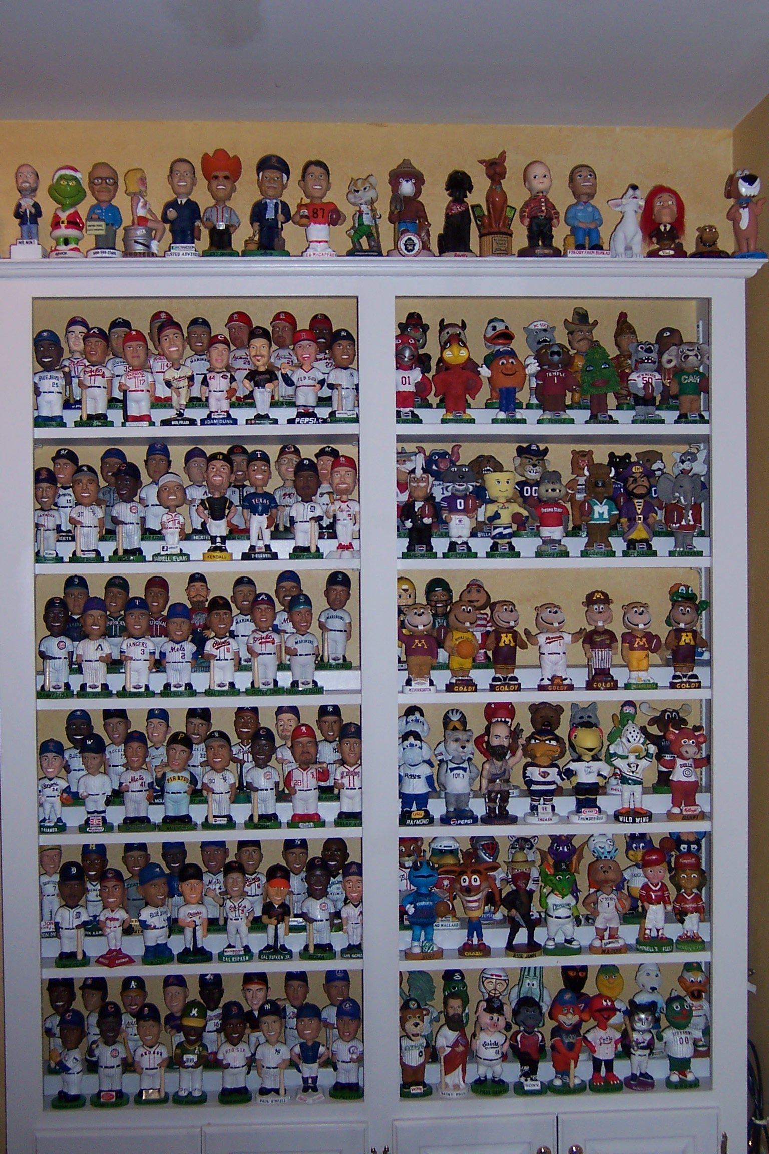 Build A Large Display Case Display Bobble Head And